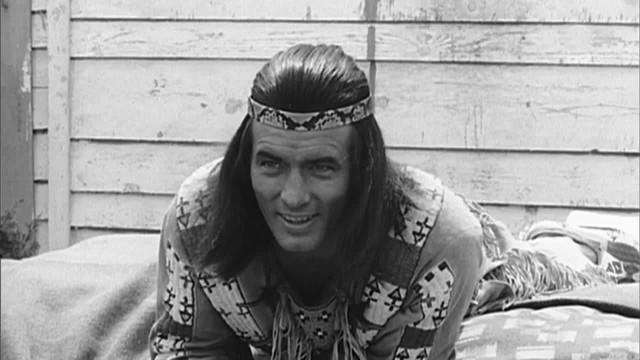 Pierre Brice dans son role de Winnetou