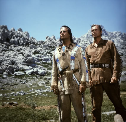 Winnetou et Old Shatterhand