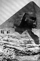 Karl May à Gizeh près du sphinx en 1900