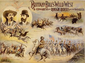 Affiche du Buffalo Bill's Wild West